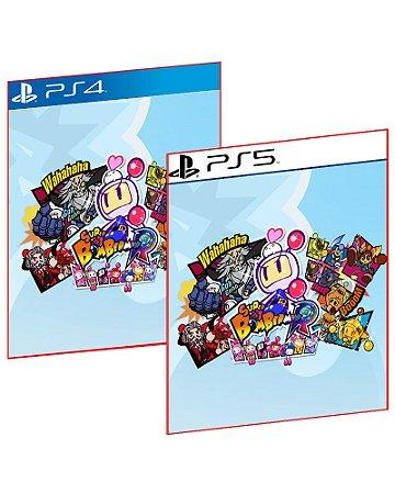 SUPER BOMBERMAN R PS4 E PS5 MÍDIA DIGITAL PSN