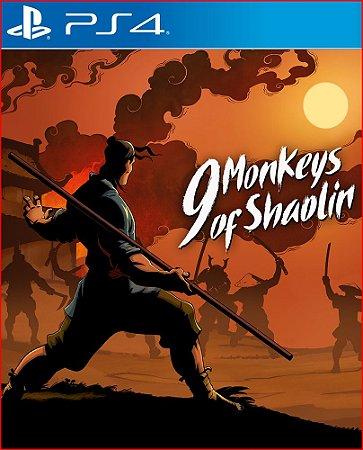 9 monkeys of shaolin ps4 psn mídia digital