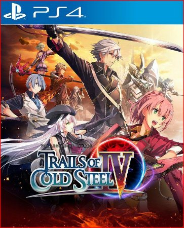 The legend of heroes trails of cold steel IV ps4 midia digital