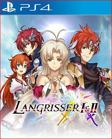Langrisser I E II PS4 midia digital psn