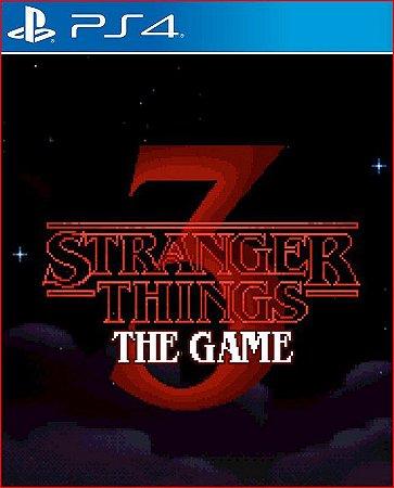 STRANGER THINGS 3 THE GAME PS4 PORTUGUÊS MÍDIA DIGITAL