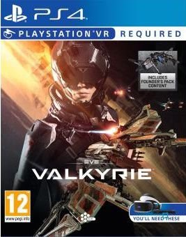 EVE VALKYRIE WARZONE PS4 MIDIA DIGITAL