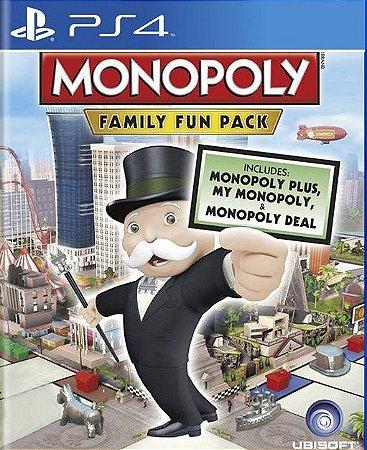 monopoly family fun pack ps4 midia digital