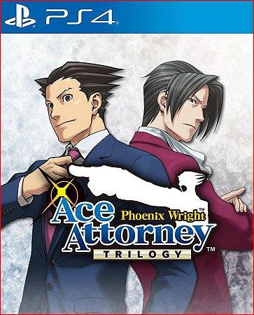phoenix wright ace attorney trilogy ps4 midia digital