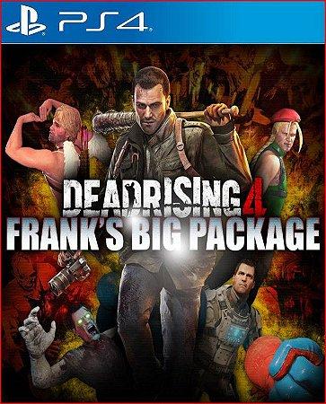DEAD RISING 4 FRANK'S BIG PACKAGE PS4 MÍDIA DIGITAL PORTUGUÊS