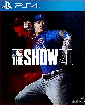 MLB THE SHOW 20   PS4   MÍDIA DIGITAL
