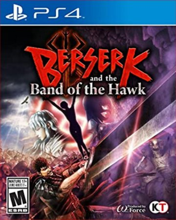 BERSERK AND THE BAND OF THE HAWK PS4 MIDIA DIGITAL