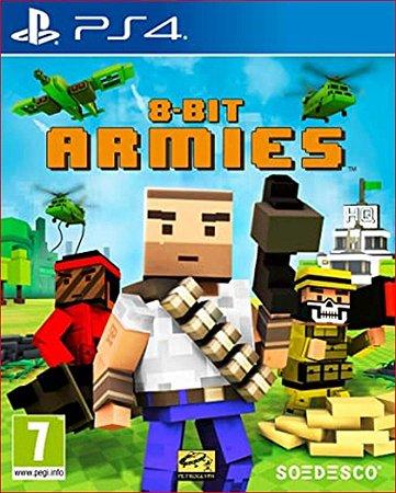8-bit armies ps4 psn mídia digital