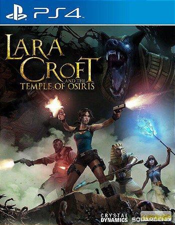 LARA CROFT AND THE TEMPLE OF OSIRIS PS4 MIDIA DIGITAL