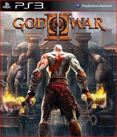 GOD OF WAR ll HD PS3 PSN MÍDIA DIGITAL