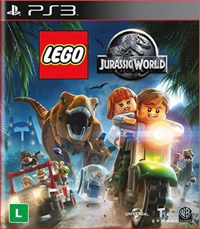 LEGO JURASSIC WORLD PS3 PSN PORTUGUÊS