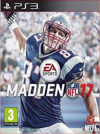 MADDEN NFL 17 PS3 PSN MIDIA DIGITAL