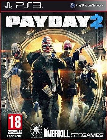 PAYDAY 2 PS3 PSN MÍDIA DIGITAL
