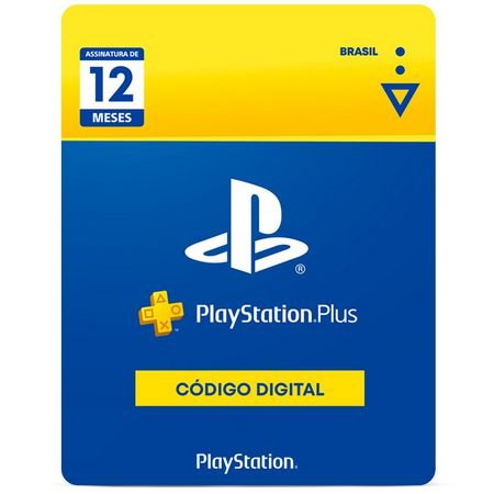 PLAYSTATION PLUS | Cartão PSN PLUS 12 Meses - Playstation Network Brasil