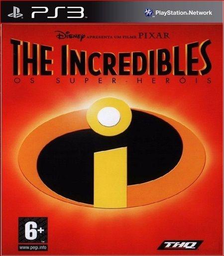 THE INCREDIBLES (PS2 CLASSIC) PS3 PSN MÍDIA DIGITAL