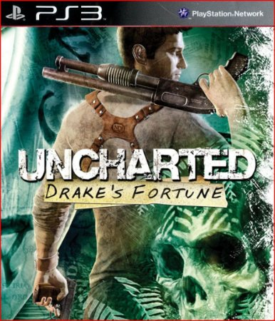 uncharted drakes fortune ps3 midia digital