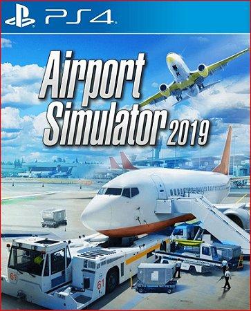 Airport Simulator 2019 PS4 Midia Digital