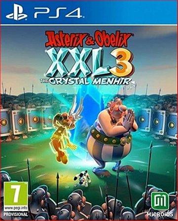 ASTERIX & OBELIX XXL3: THE CRYSTAL MENHIR PS4 PSN MÍDIA DIGITAL