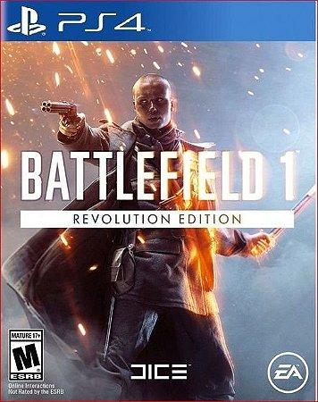 battlefield 1 revolution ps4 midia digital