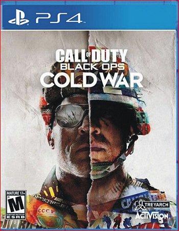 Call of Duty Black Ops Cold War Edição Padrão Ps4 Mídia Digital