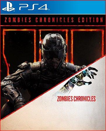 CALL OF DUTY BLACK OPS III EDIÇÃO ZOMBIES CHRONICLES PS4 PSN MIDIA DIGITAL