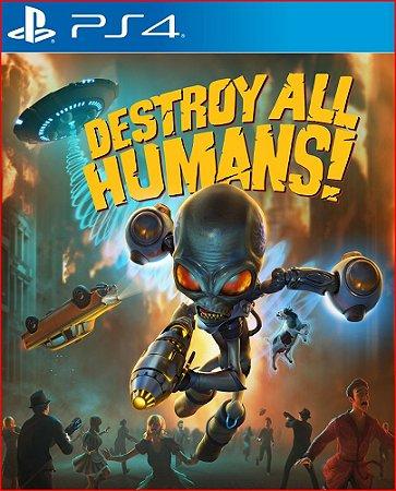 DESTROY ALL HUMANS! PS4 MÍDIA DIGITAL