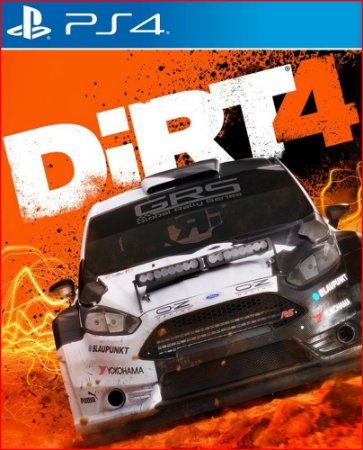 DIRT 4 PS4 MÍDIA DIGITAL