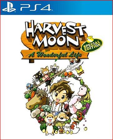 HARVEST MOON A WONDERFUL LIFE SPECIAL EDITION PS4 MÍDIA DIGITAL