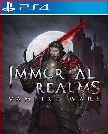 IMMORTAL REALMS: VAMPIRE WARS PS4 MÍDIA DIGITAL