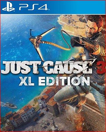 JUST CAUSE 3 XXL EDITION PS4 PORTUGUÊS MÍDIA DIGITAL
