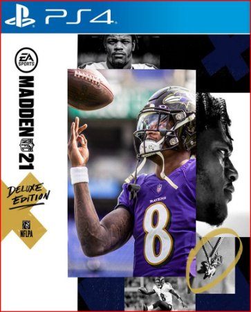 MADDEN NFL 21 DELUXE EDITION PS4 MIDIA DIGITAL