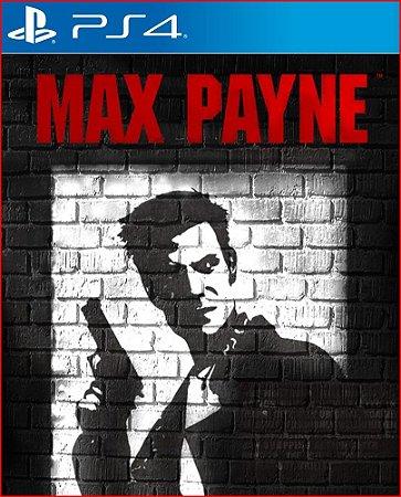 MAX PAYNE PS4 MÍDIA DIGITAL