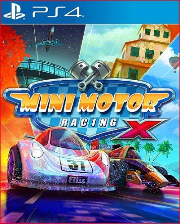 MINI MOTOR RACING X PS4 - PORTUGUÊS MÍDIA DIGITAL PSN