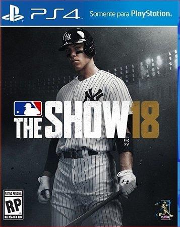 MLB THE SHOW 18 PS4 MÍDIA DIGITAL