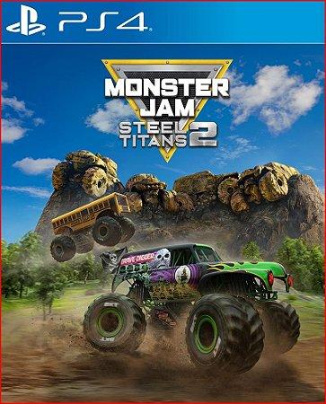 MONSTER JAM STEEL TITANS 2 PS4 MÍDIA DIGITAL