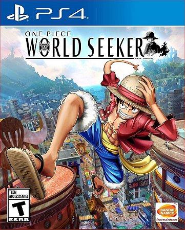 One Piece World Seeker ps4 psn Mídia Digital