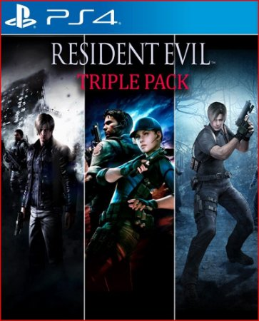 PACOTE TRIPLO RESIDENT EVIL PS4 MÍDIA DIGITAL