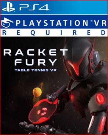 RACKET FURY TABLE TENNIS PS4 MÍDIA DIGITAL