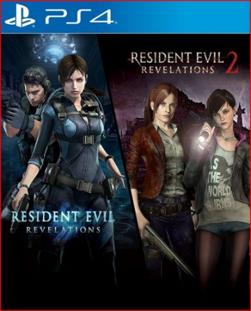 RESIDENT EVIL REVELATIONS 1 AND 2 PS4 MÍDIA DIGITAL
