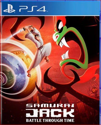 SAMURAI JACK: BATTLE THROUGH TIME PS4 MÍDIA DIGITAL