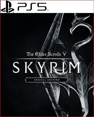 the elder scrolls v - skyrim special edition ps5 psn mídia digital