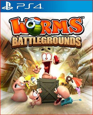 worms battlegrounds ps4 midia digital