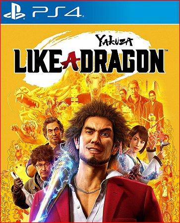yakuza like a dragon ps4 mídia digital ( leg br )