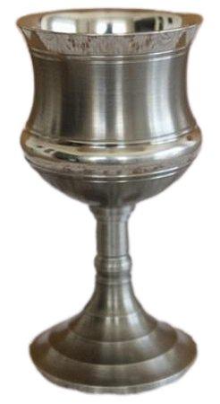 Cálice Taça Clássico Vinho Em Estanho Elegante 80 Ml