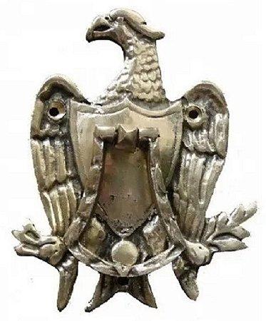 Aldrava Águia Bronze Sítio Casa Fazenda Decoração Bate Porta