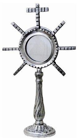 Ostensório Hóstia Alumínio Missas Religião Igreja Católica Bispos Padres