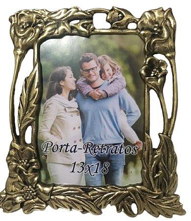 Porta Retrato Em Bronze Foto Amor Decorações Amigos Vida*