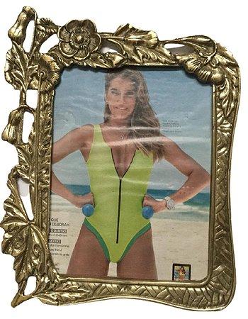 Porta Retrato Em Bronze 31x24 Vintage Mãe Decoração Presentes*