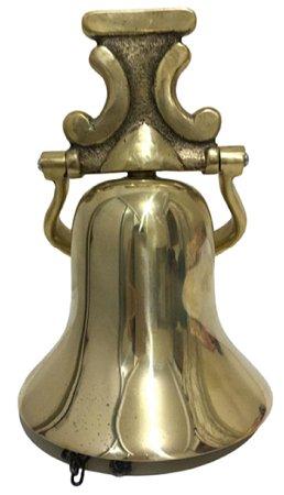 Sino De Bronze Parede Teto Giratório Grande Som Maravilhoso