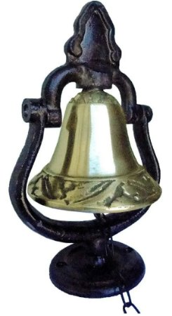 Sino Mesa E Parede Metal E Bronze Decoração Presentes